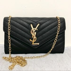 YSL 8 x 5 x 1 black g